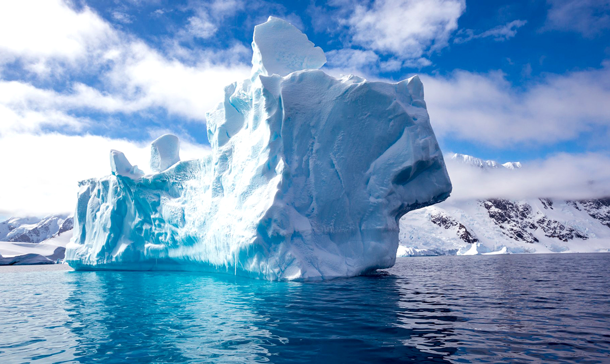 Watch As 40 Years Of Icebergs Break Off Antarctica In Less Than A Minute