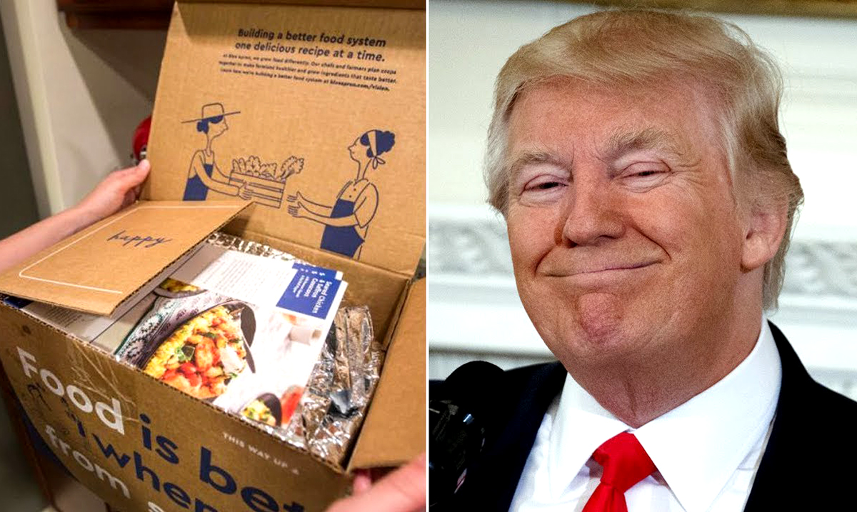 Trump Proposes New Program to Replace Food Stamps
