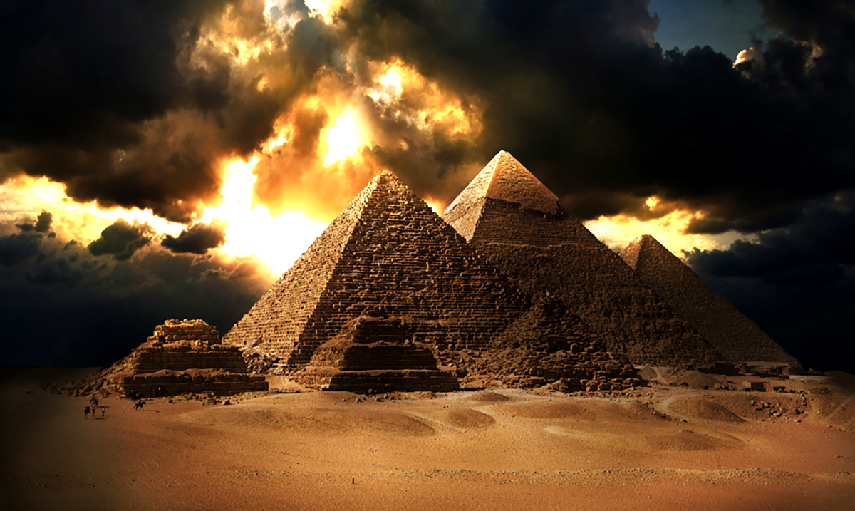 The Mystery Of The Great Pyramid Might Finally Be Solved!