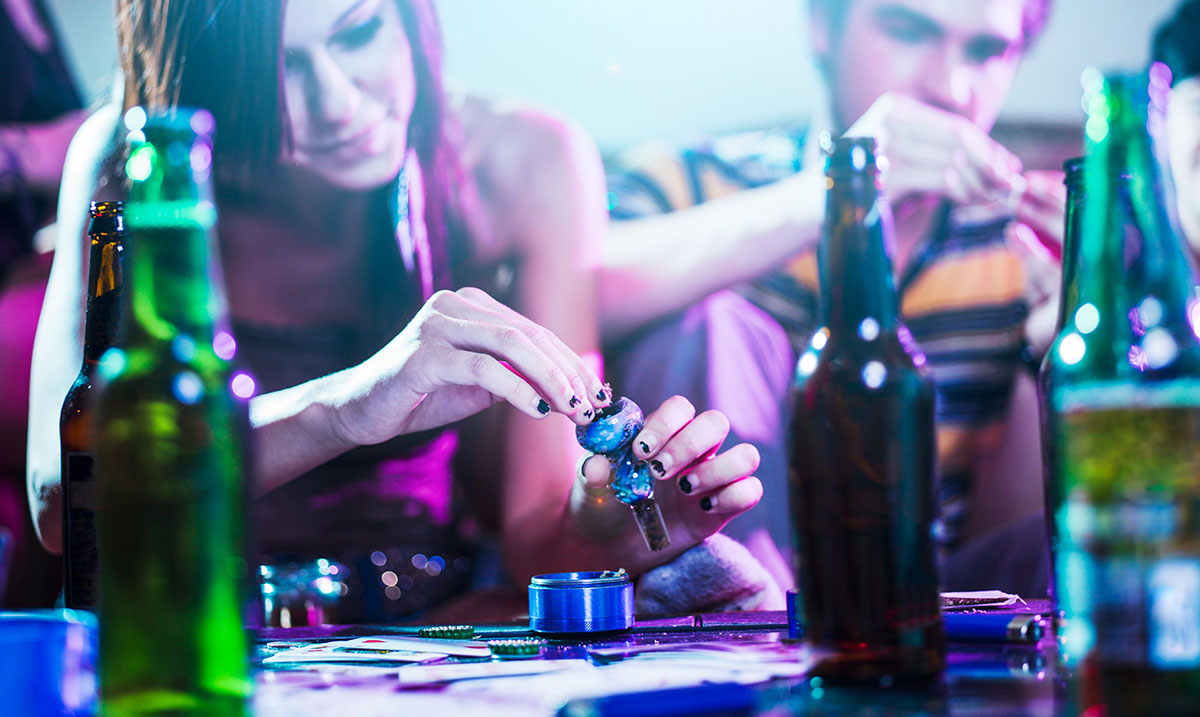 Weed Can Help to Protect the Liver from Damage Associated With Drinking