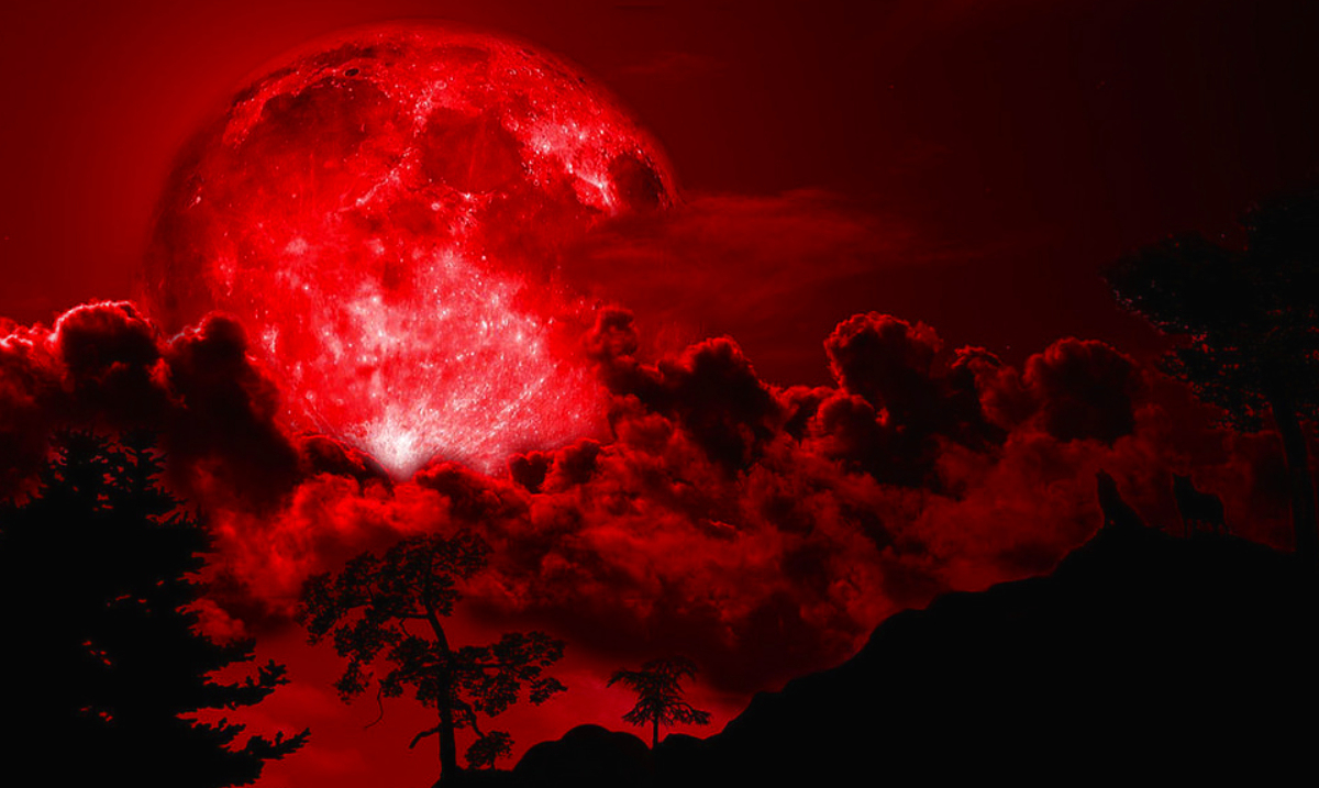 The New Year Is Going to Start Off With a Bang Due to a Super Blood Moon Total Lunar Eclipse!