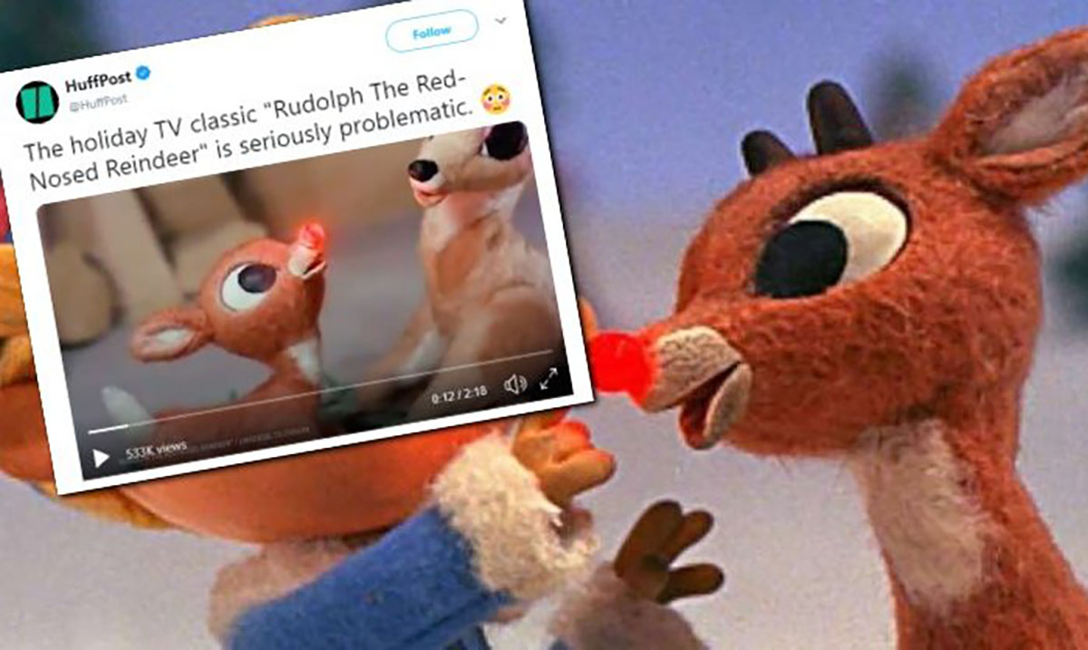 'Rudolph the Red-Nosed Reindeer' Accused of Being Sexist and Bigoted