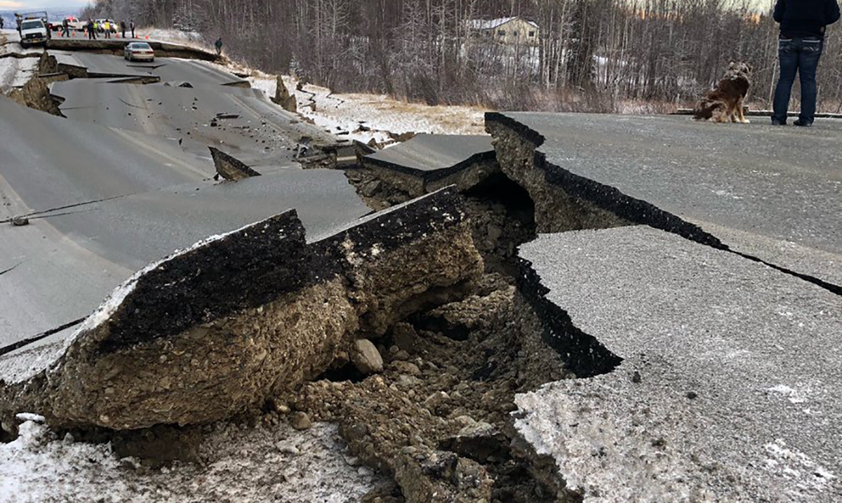 Photos Of The Destroyed Roads Show the True Power of the Hurricane that Recently Ravaged Alaska