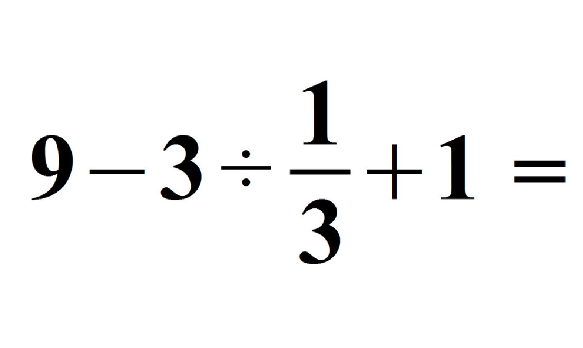 Can You Solve the 5th Grade Math Equation That Has Stumped the Internet?