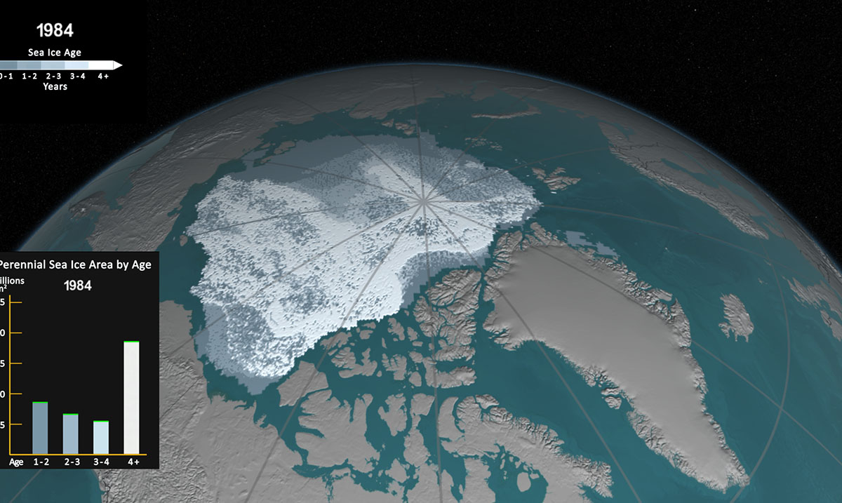 NASA Releases Time-Lapse Showing The Disappearance Of The Polar Ice Caps