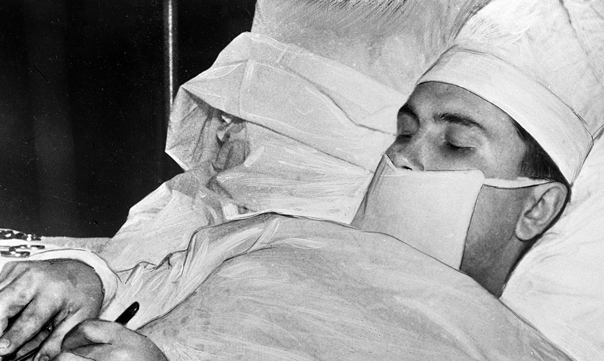 Meet The Soviet Surgeon Who Was Forced To Remove His Own Appendix