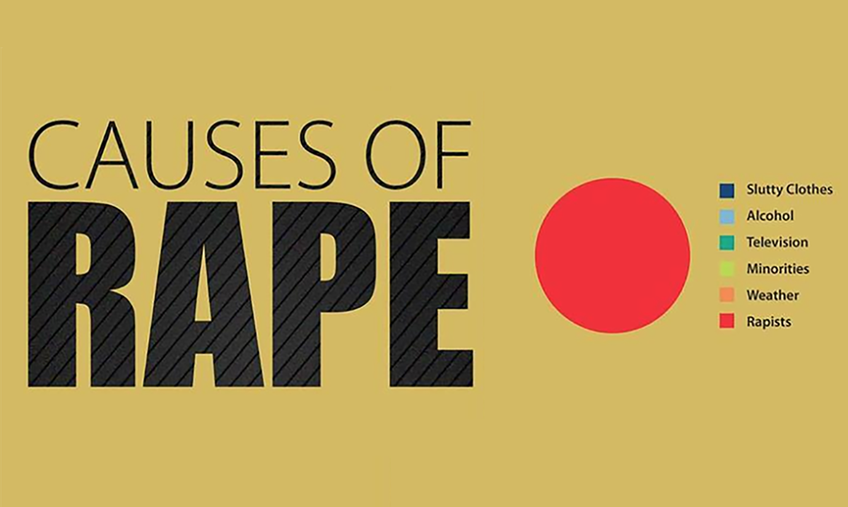 Pie Chart Reveals The Real Causes Of Rape (You May Be Surprised)