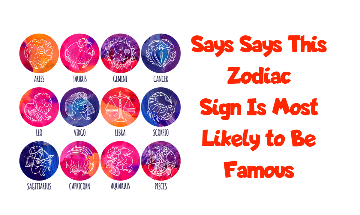 Study Reveals the Favored Zodiac Sign For Celebrity Births