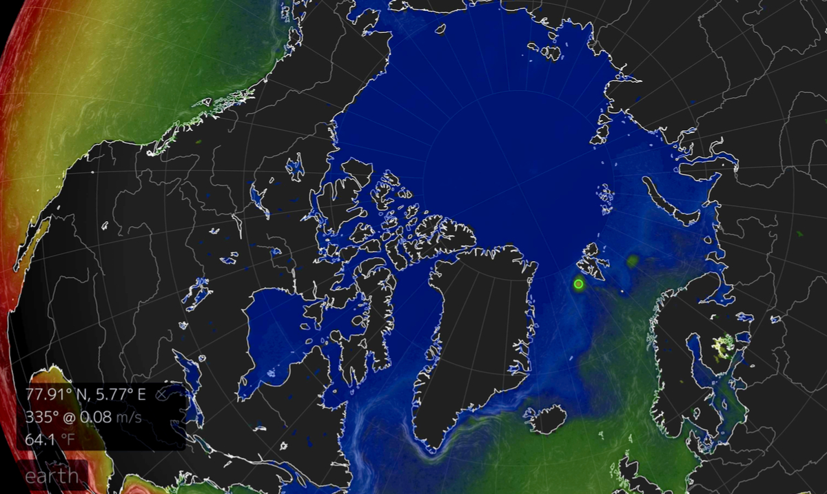 The Arctic Has Been Heating Up For Months Because Of A Huge Underwater Volcano
