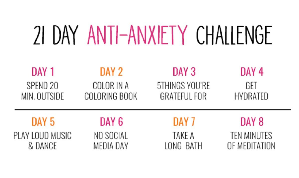 Free 21 Day Anxiety Challenge – Taking Total Control Over Your Emotions