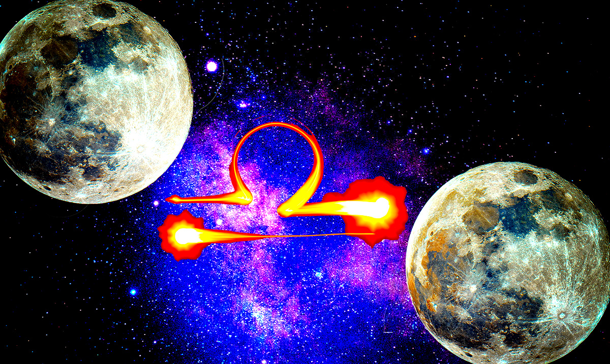 Libra Full Moon Duo Aries Season 2019 – Things Are About To Get Intense!