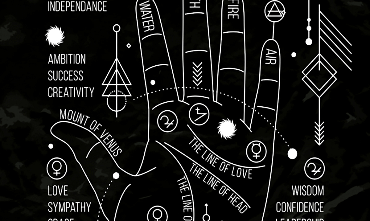This Is What Your Palm Reveals About Your Personality