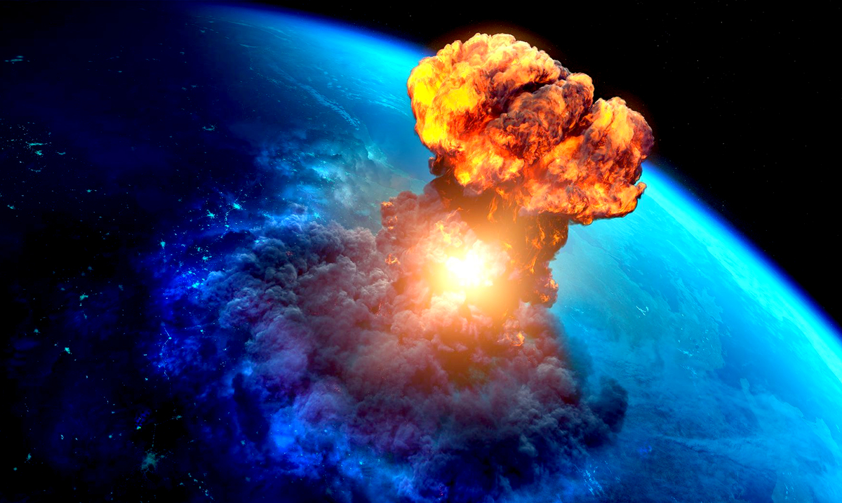 A Massive Meteor Just Exploded Over Earth, And It Contained the Force of Over 10 Atomic Bombs!