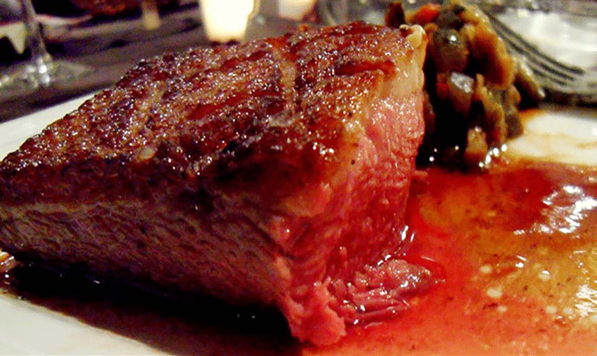 The Red Juice That Oozes Out Of Your Steak Isn't Actually Blood