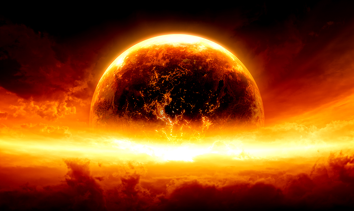 Recently Uncovered Dying Planet Reveals Apocalyptic Future For Earth, Study Says