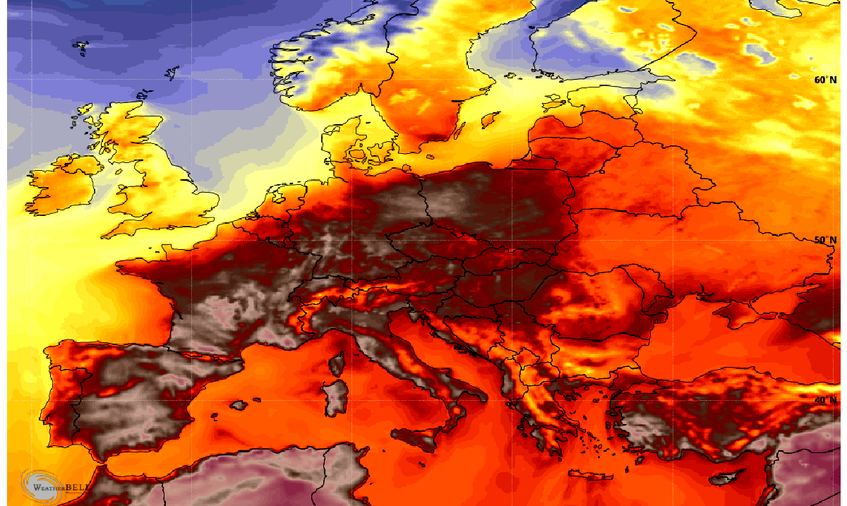 'Hell Is Coming': Meteorologist Warning Of Devastating European Heatwave