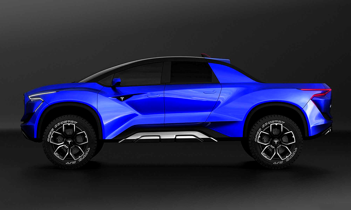 New Tesla Pickup Truck To Be Priced Below $49,000 And Blow F-150s Out Of The Water