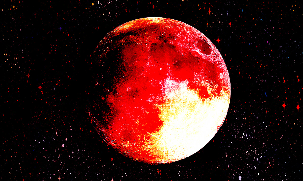 The Half-Blood Thunder Moon Is Coming, And It's Going To Make You Freak Out