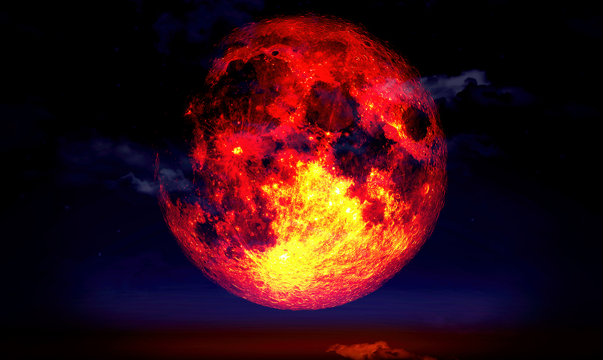 What The Upcoming Full Moon/Lunar Eclipse Holds For Your Zodiac Sign