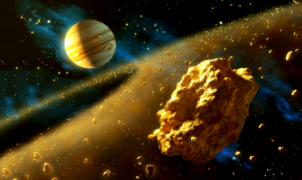 NASA Is Chasing A Massive Golden Asteroid That Could Make Us All Billionaires