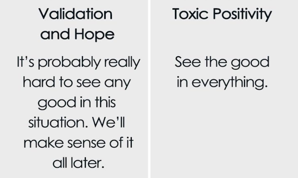 What You Need To Understand About Toxic Positivity