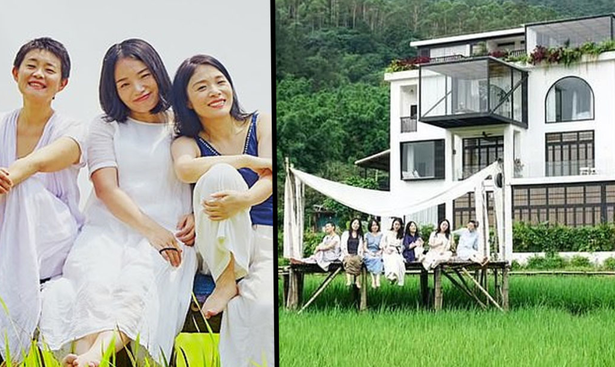Seven Friends Define 'Squad Goals' And Buy A Mansion So They Can All Live Together When They're Old