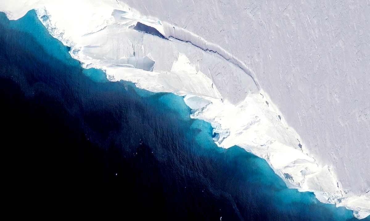Ancient Rocky Structure Revealed Under Melting Ice In Antarctica