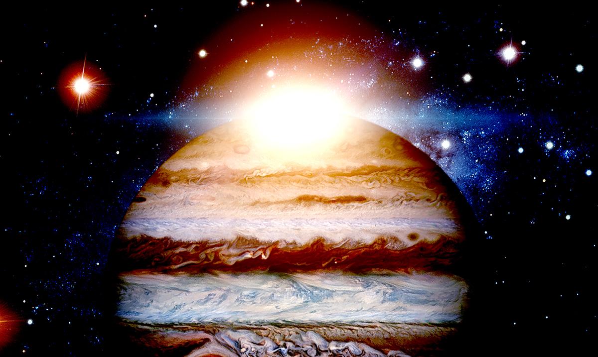 Something Massive Smashed Into Jupiter