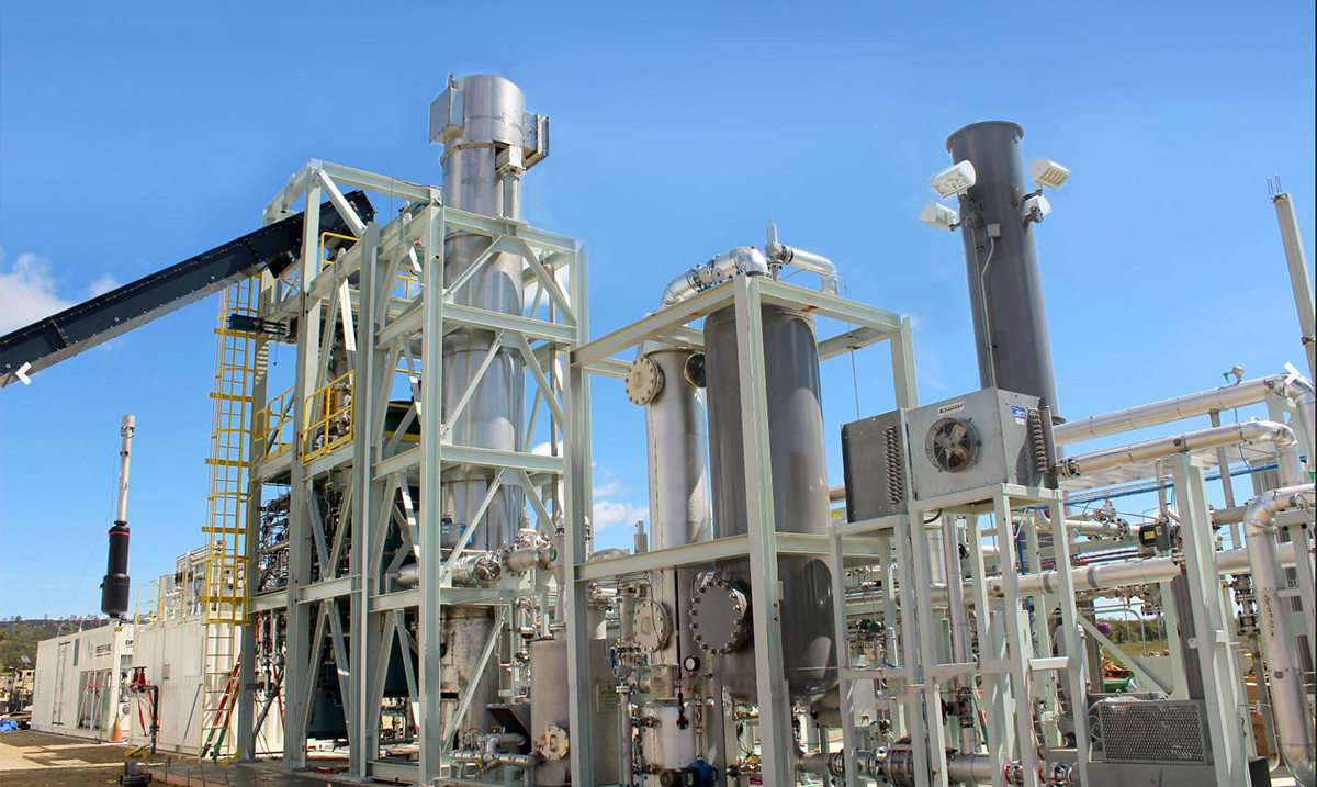 Blast Furnace Creates Clean Energy By Vaporizing Trash With No Emissions