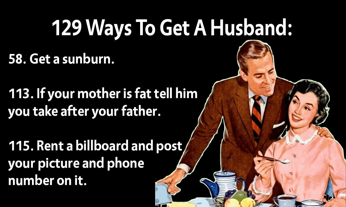 '129 Ways To Get A Husband' Article From 1958 Shows Just How Much The World Has Changed