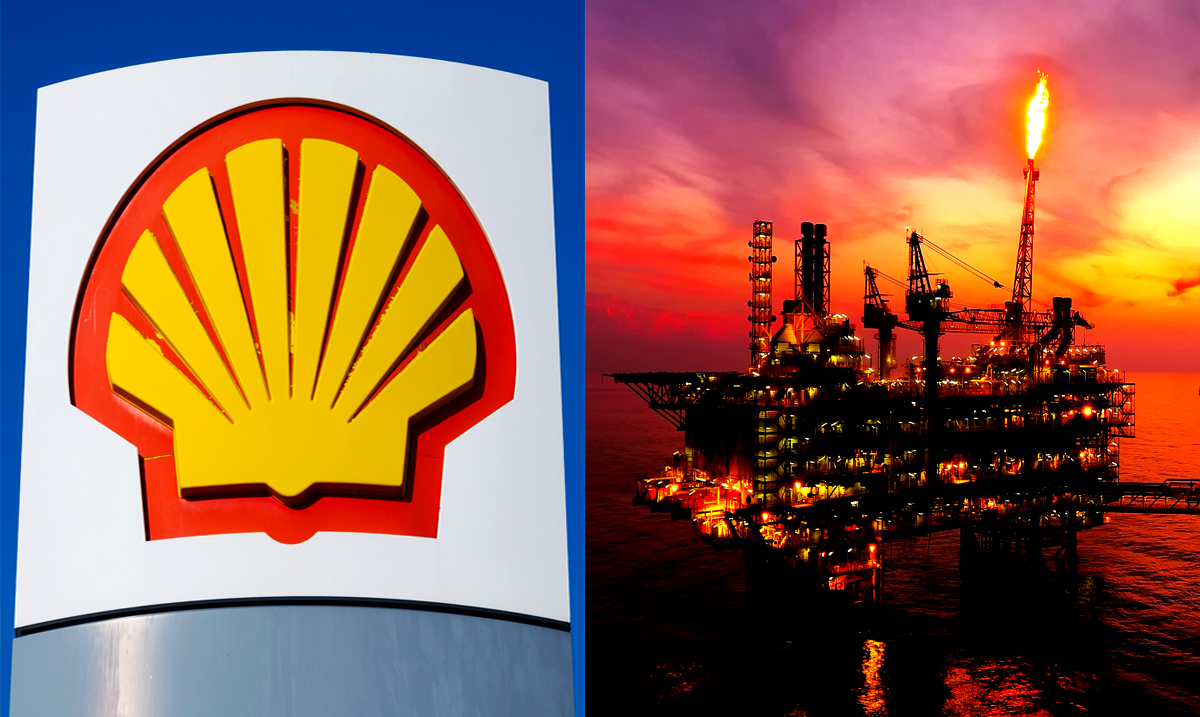Shell Oil Is Burning Off 'Gas' It Cannot Sell And Has Been For Months