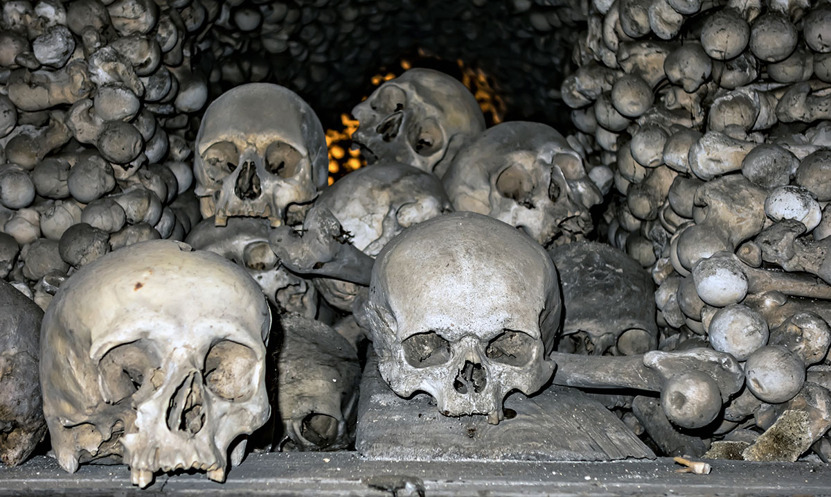The World's Creepiest Places From A 'Bone Church' To An Island Of Mutilated Dolls