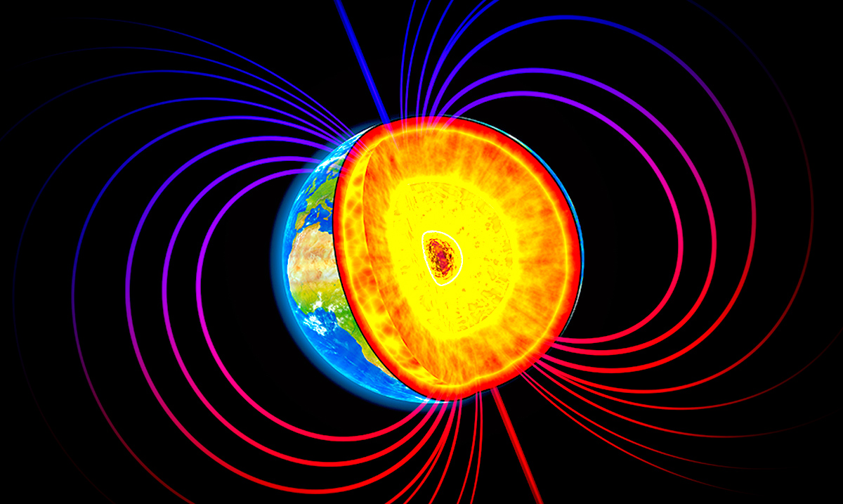 Earth's Magnetic Field Could Connect All Living Things