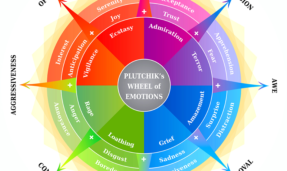 Using The 'Wheel Of Emotions' To Help Determine What You Are Feeling