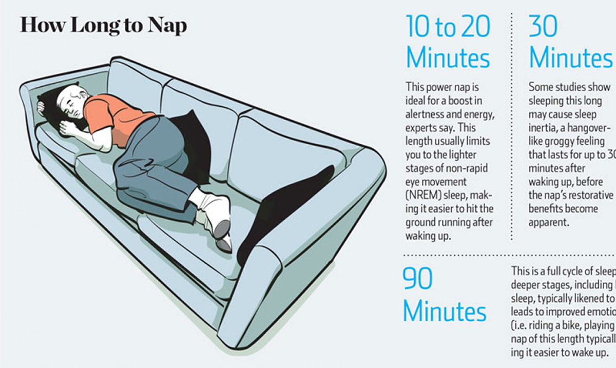 Napping Could Boost Memory, Reduce Stress And So Much More