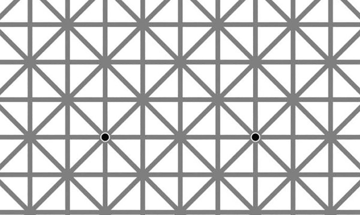 This Black Dot Optical Illusion Is Catching All Of Us Off Guard