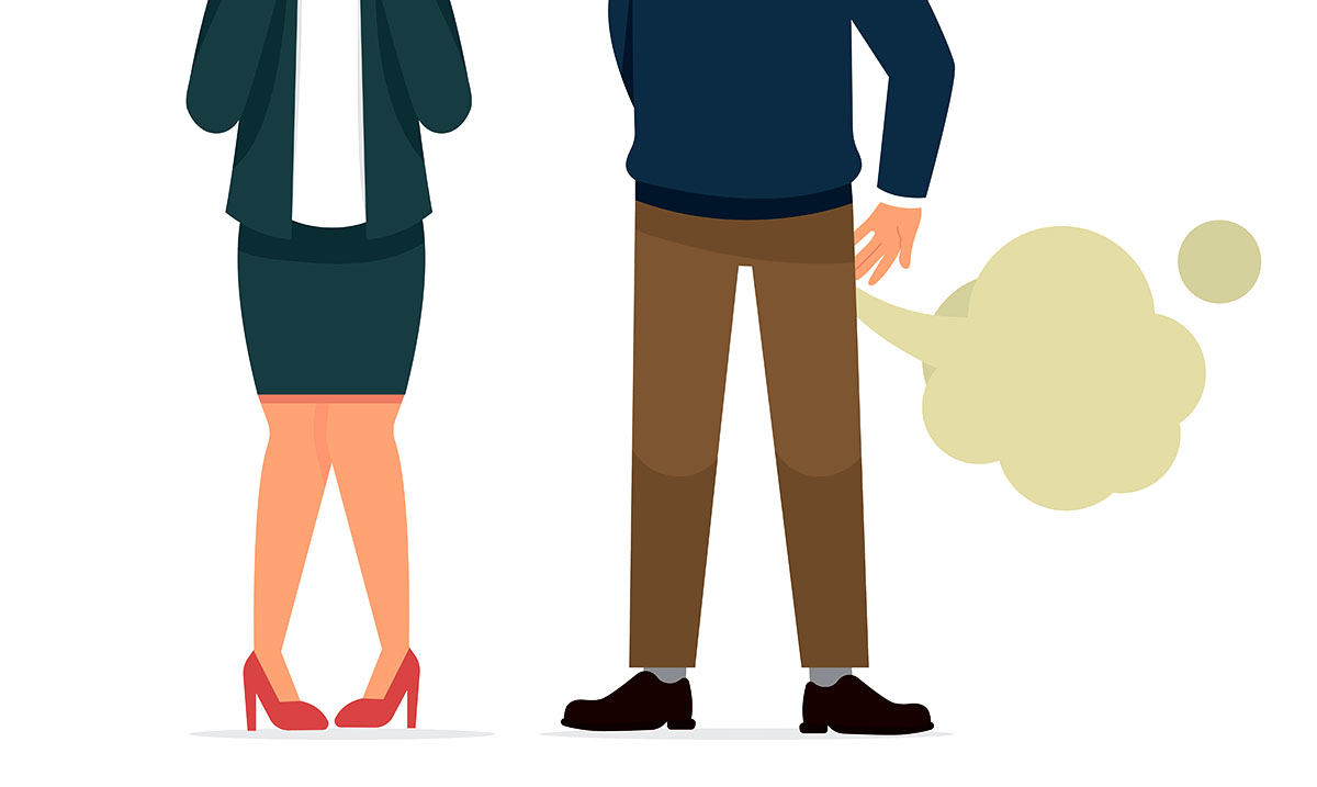 Farting In Front Of Your Partner Might Make Your Connection Stronger