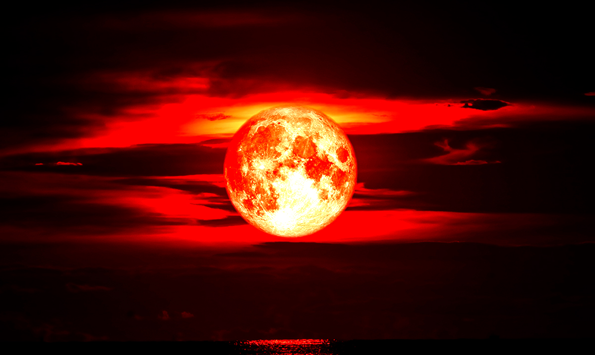 Prepare For Intense Energy As We Head Towards The First Full Moon Lunar Eclipse Of The Decade