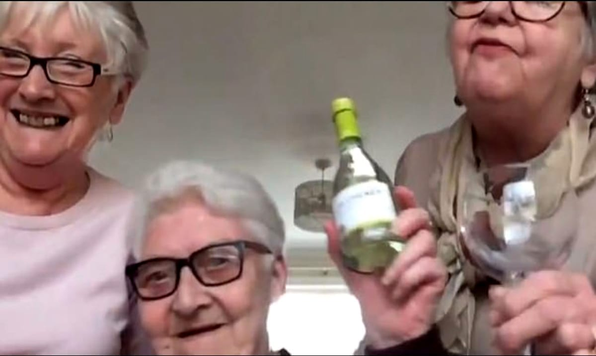 Three Elderly Women Decided To Self-Isolate Together, Keeping Loneliness At Bay