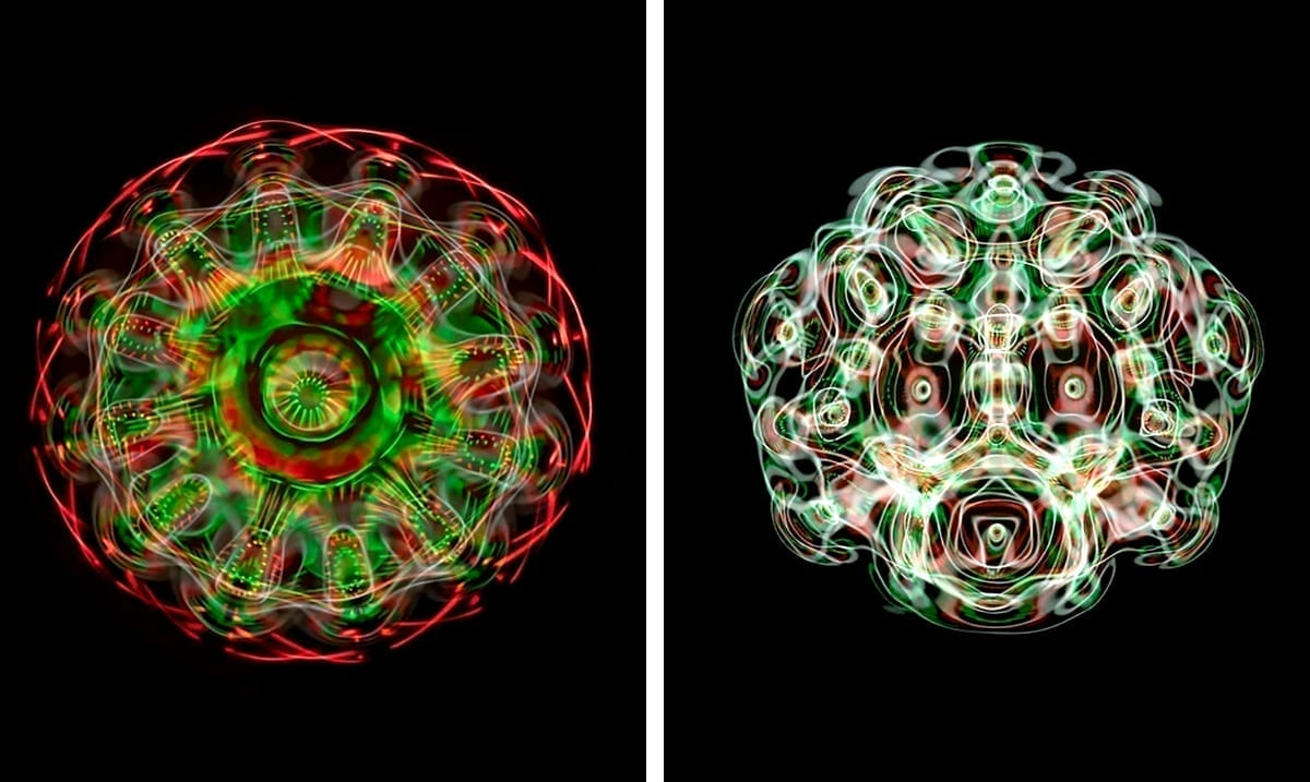 These Trippy Photos Were Made By Blasting Water With Sound