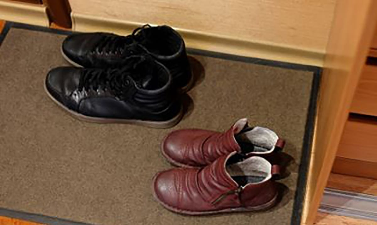 The Gross Reason Why You Should Always Take Your Shoes Off At The Door
