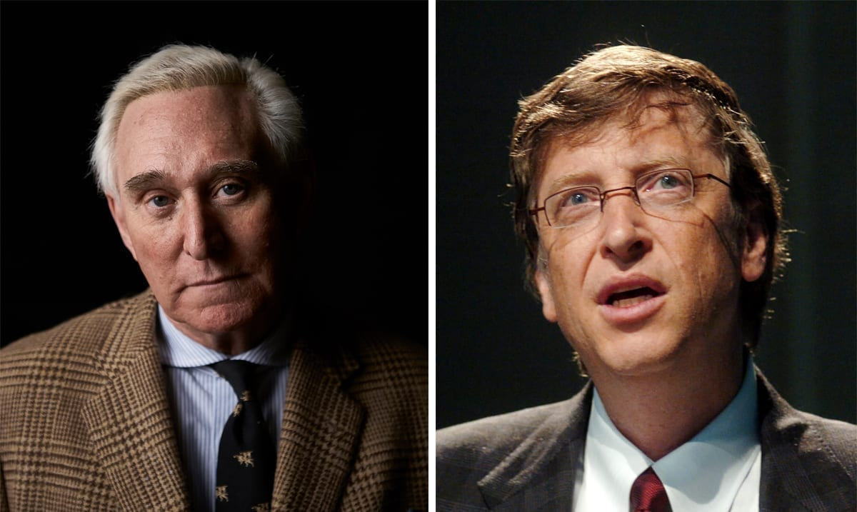 Roger Stone Accuses Bill Gates Of Creating COVID-19