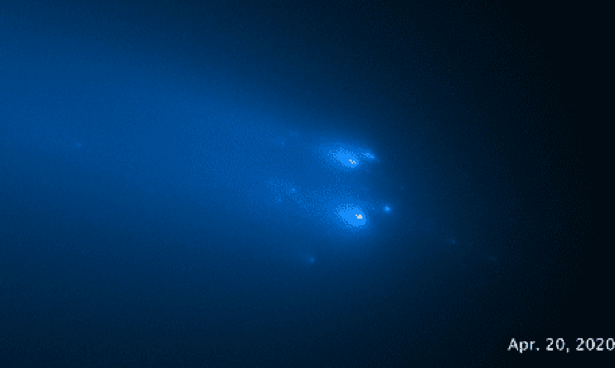 Hubble Telescope Captures Photos Of Comet ATLAS Finally Disappearing