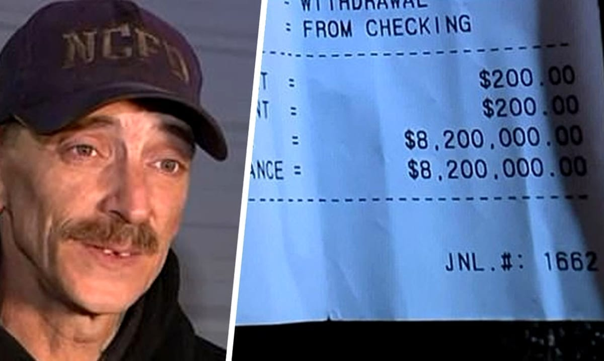 Indiana Man Expecting $1,700 Stimulus Check Found $8 Million In His Bank Account