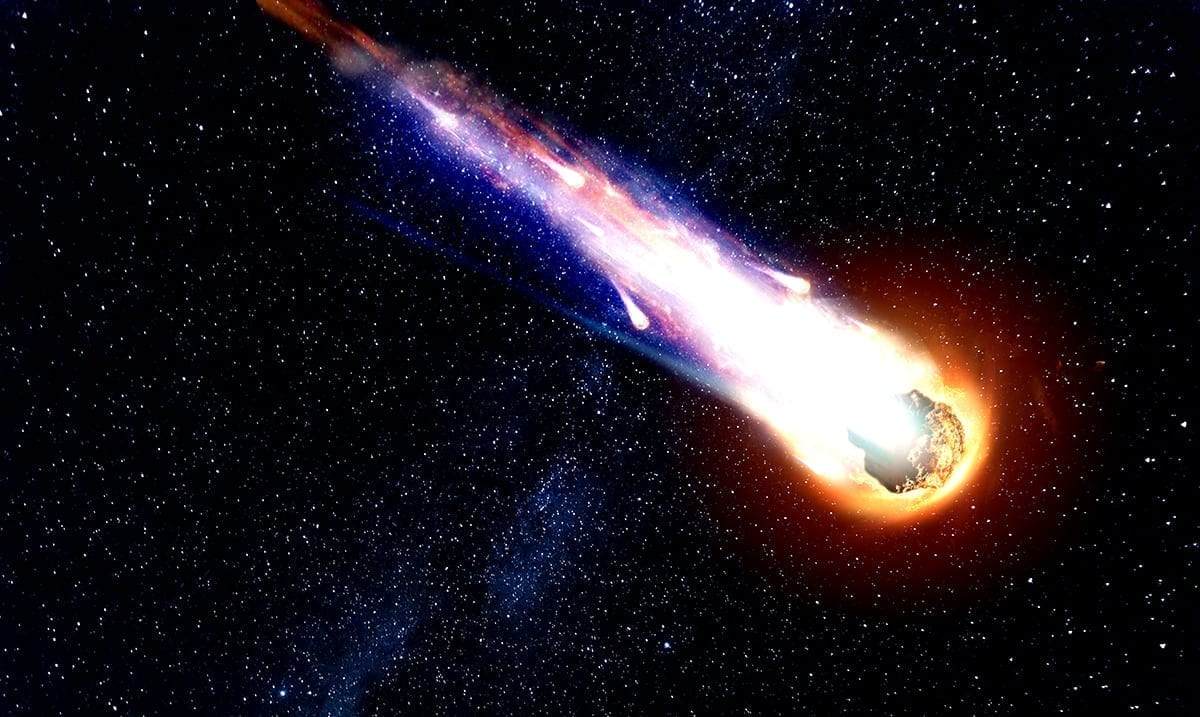 Giant Comet Could Light Up The Sky At The End Of April