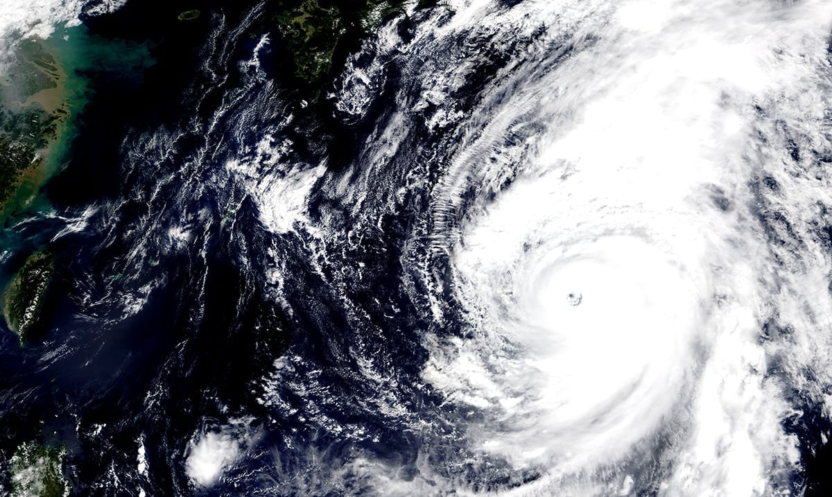 Typhoon Vongfong Intensifies Just Before Hitting The Philippines