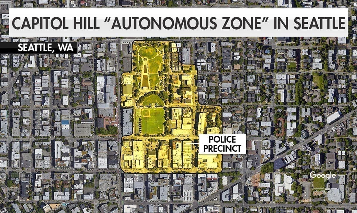 Protesters Maintain 'Autonomous Zone' In Seattle