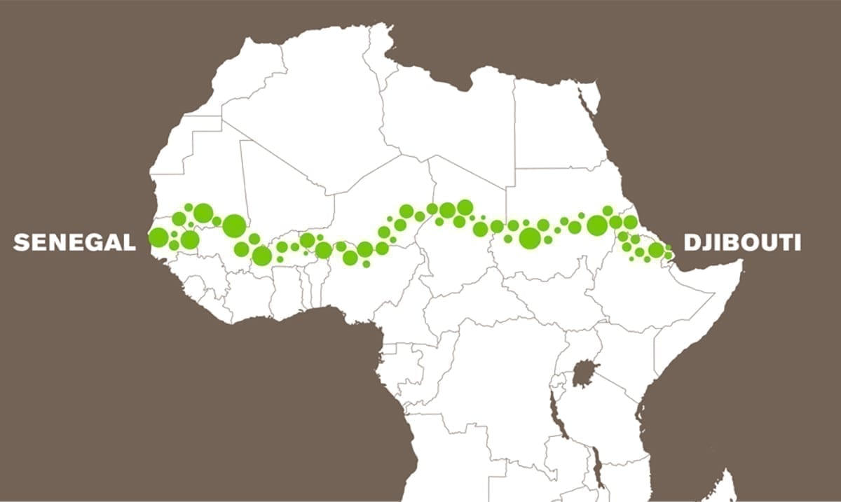 20 Countries Coming Together To Build A 4,750-mile Wall Of Trees