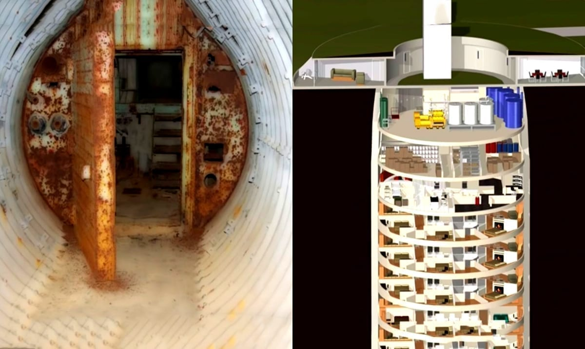 Mind-Blowing Apocalypse Bunker Has A Movie Theatre, Swimming Pool, And So Much More