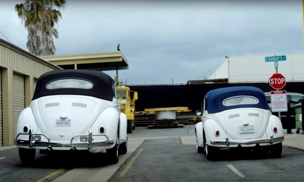 This Enormous Custom VW Bug Is Larger Than A Hummer